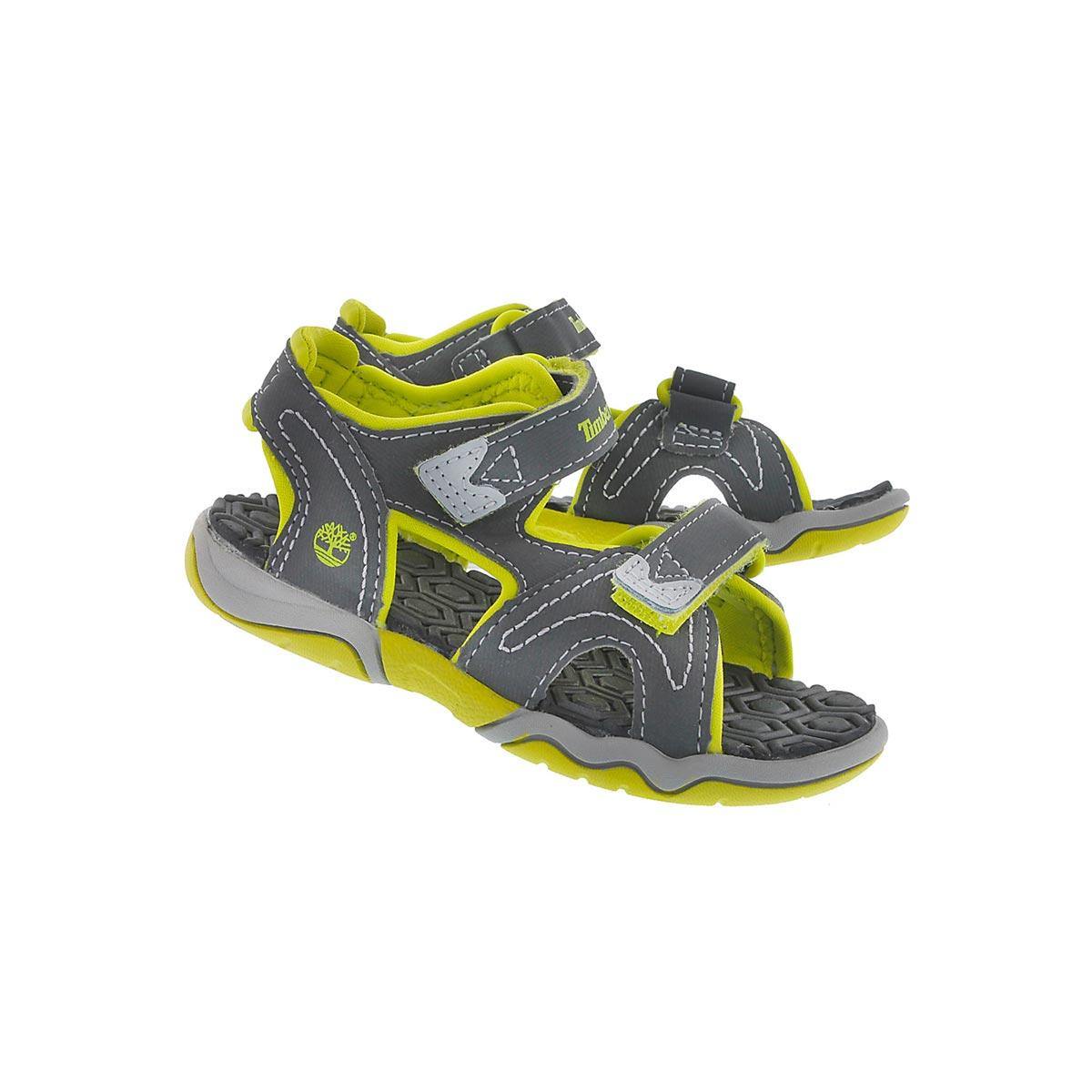 Sandale gris/vert ADVENTURE SEEKER, béb