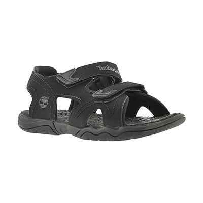 Timberland Boys' ADVENTURE SEEKER black sport sandals