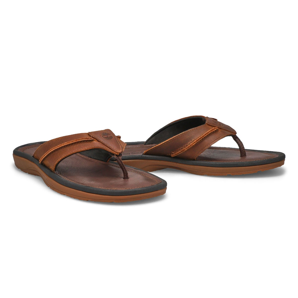 Mns Earthkeepers brn oiled thong sandal