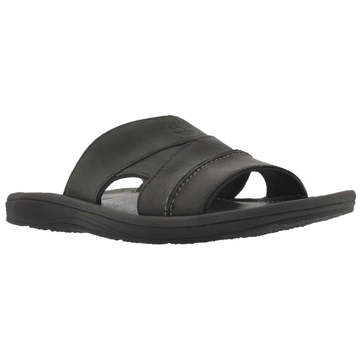 Men's EARTHKEEPERS black oiled slide sandals