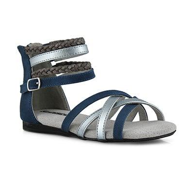 Grls Thandi denim casual sandal