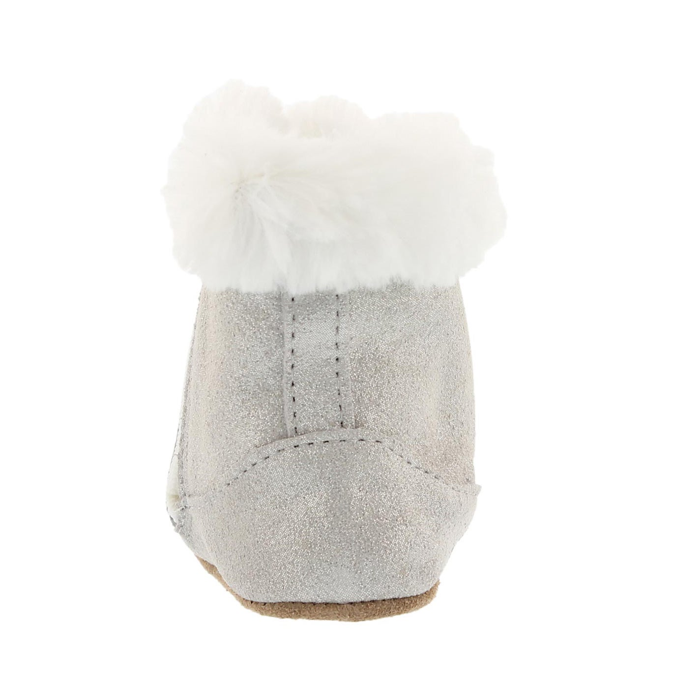 Inf Thea Twinkle gry sparkle bootie