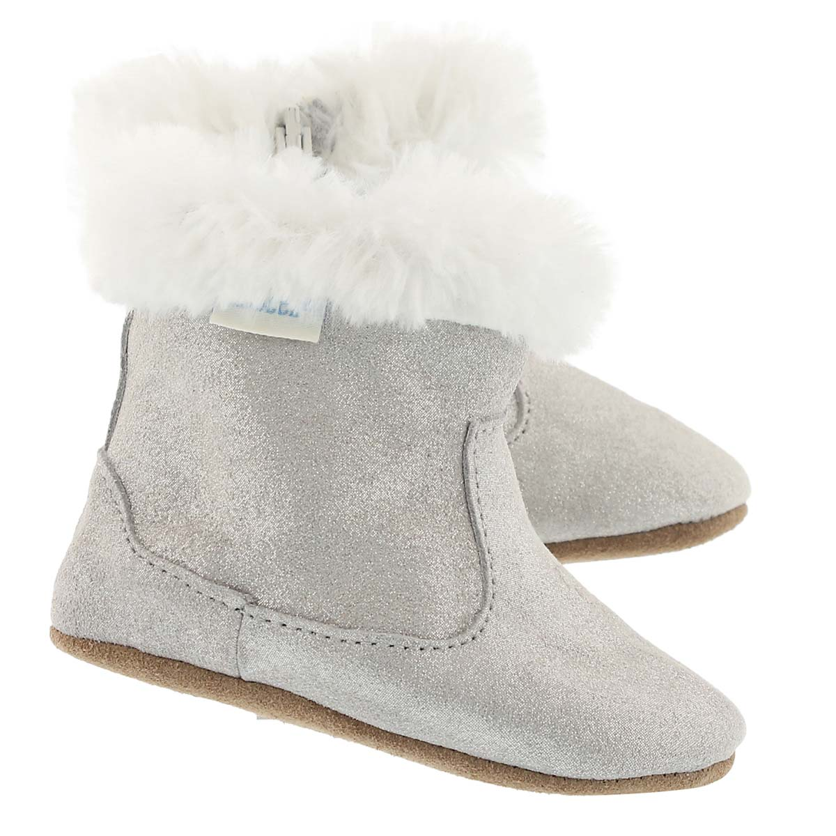 Chausson Thea Twinkle, gris scint, b�b�