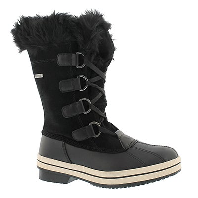 Lds Thunder Bay blk wtpf winter boot