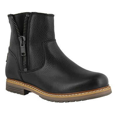 Lds Tiana black casual ankle boot