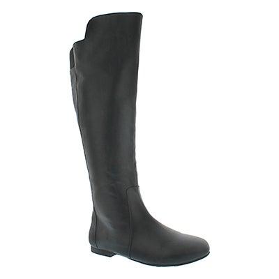 Fergalicious Women's TIARA black tall casual boots