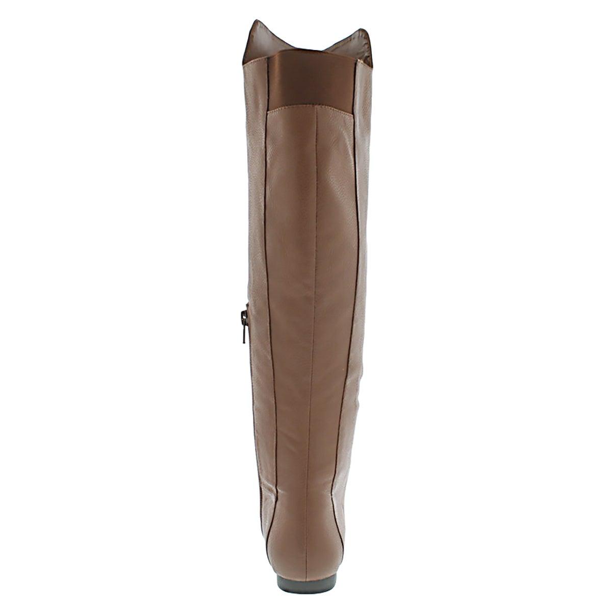Lds Tiara brn tall casual boot
