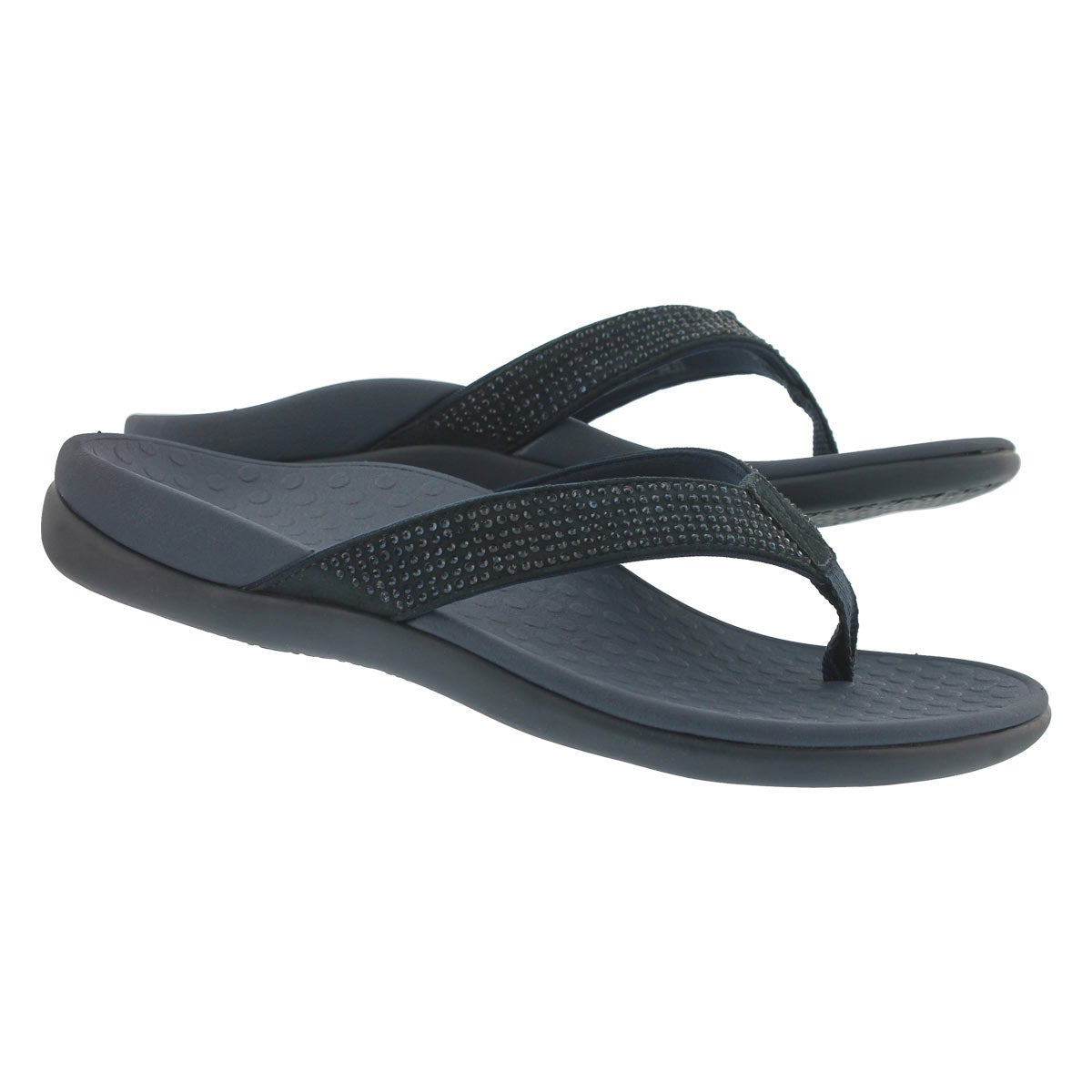 Lds TideRhinestone nvy arch support thng