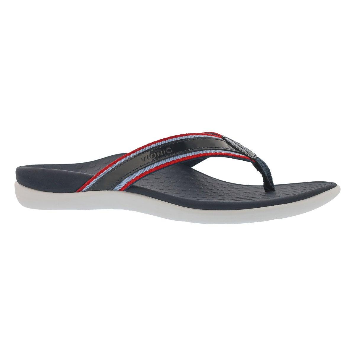 613f4817a2c25 Vionic Women s TIDE SPORTnavy arch support thong sandals Women s Sandals  Blue. Online Only. Lds TideSport nvy arch support thng sndl