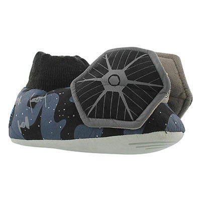 Inf Star Wars Tie Fighter blue slipper