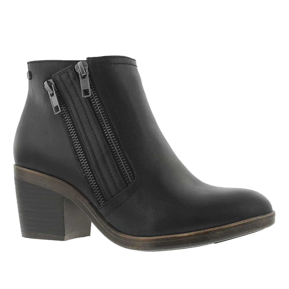 Women's TIFFANY black casual ankle boots