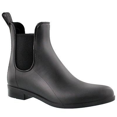 Sam Edelman Women's TINSLEY black matte rain boots