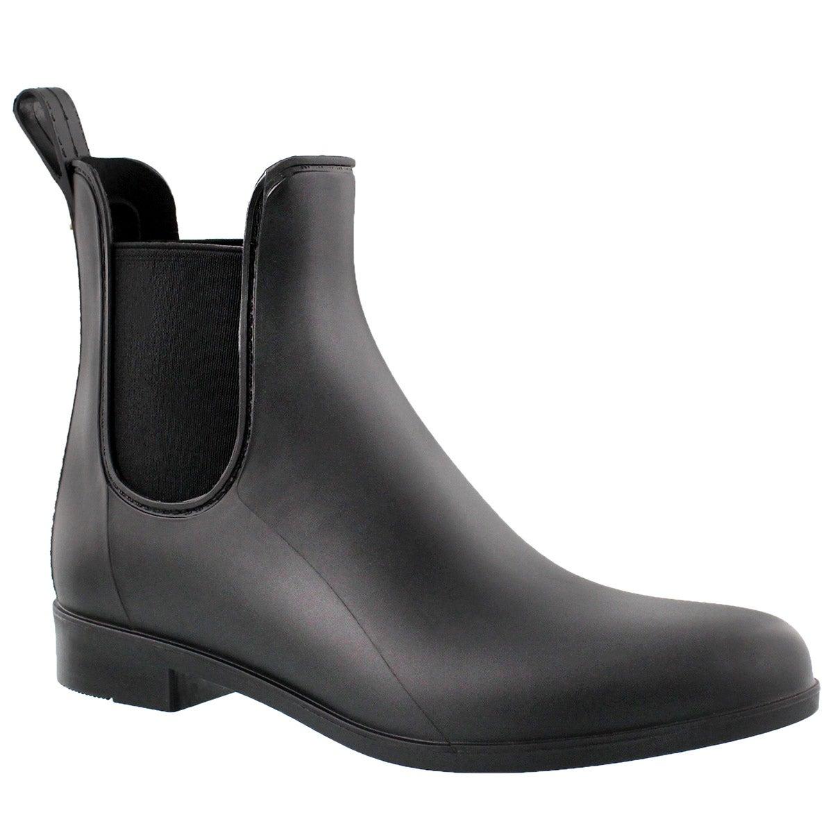 Lds Tinsley black matte rain boot