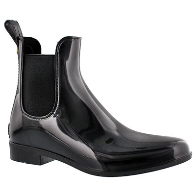 Sam Edelman Women's TINSLEY black short rain boots