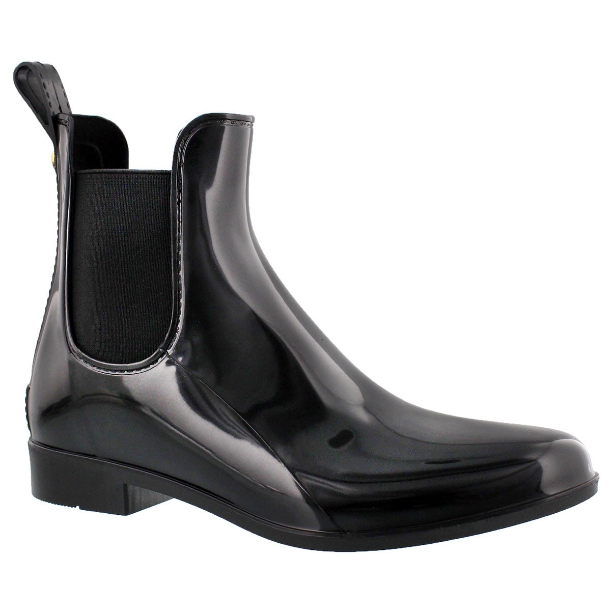 Lds Tinsley black short rain boot