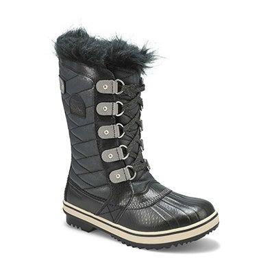 Grls Tofino II blk wtpf snow boot
