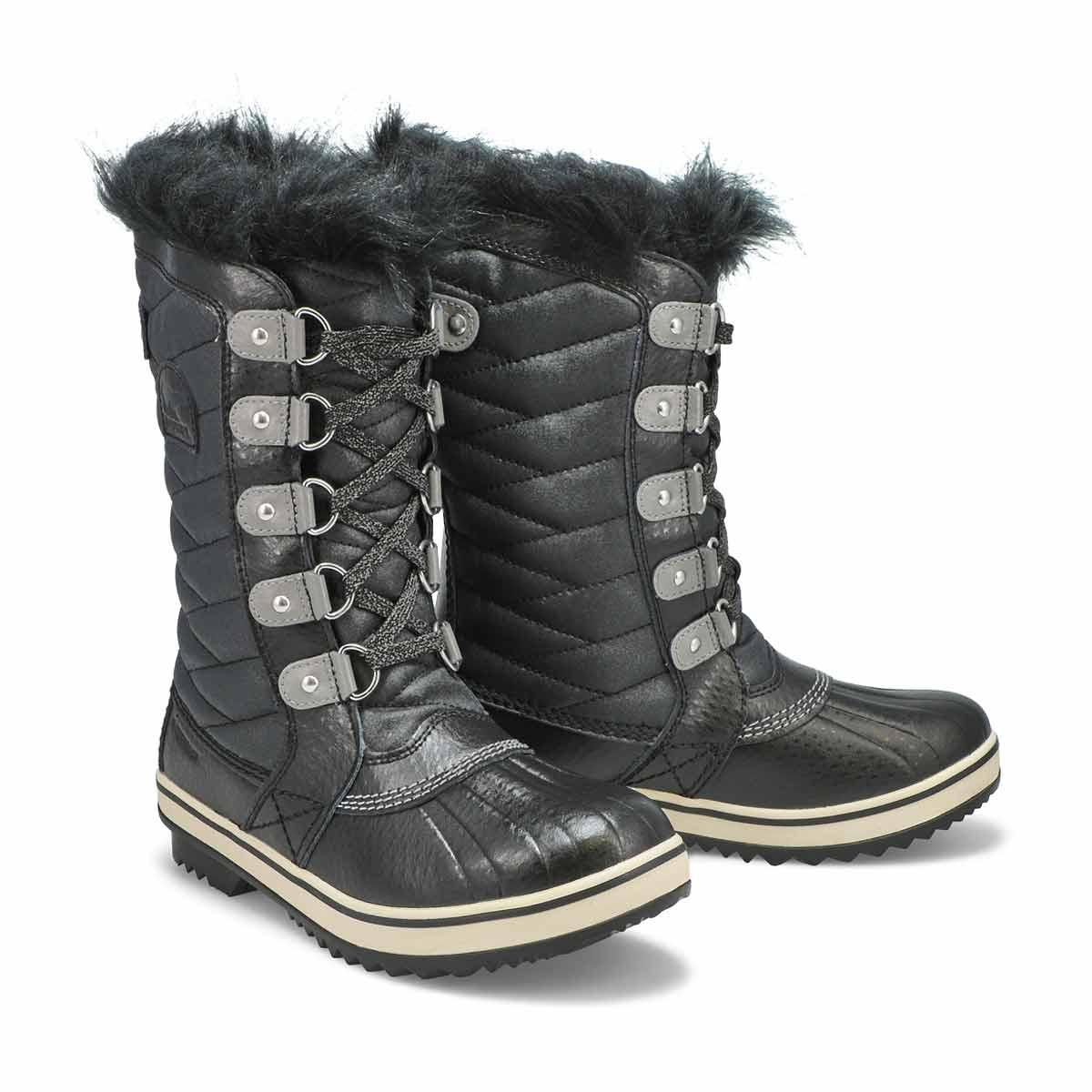 Botte hiver imp. TOFINO II, noir, filles