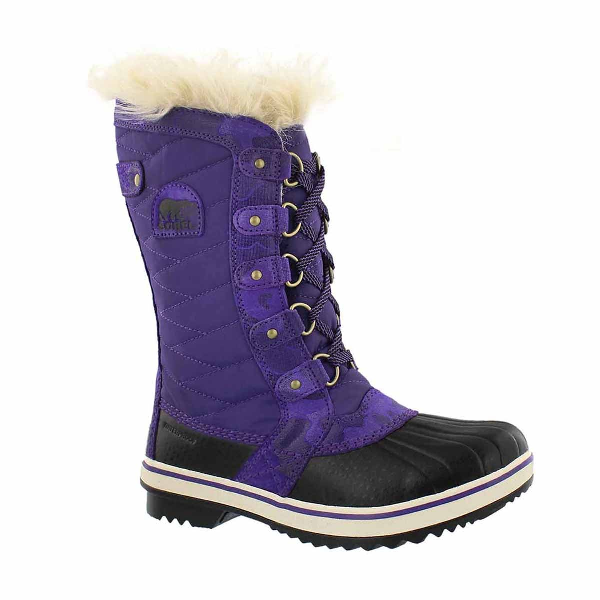 Girls' TOFINO II emperor waterproof snow boots