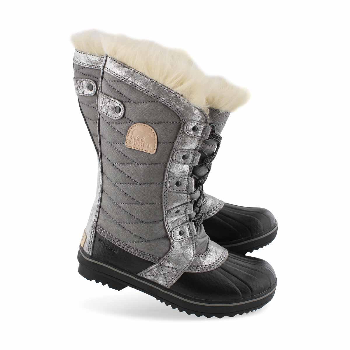 Girls' TOFINO II  quarry waterproof snow boots