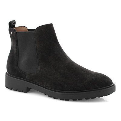 Lds Tokio black vegan chelsea boot