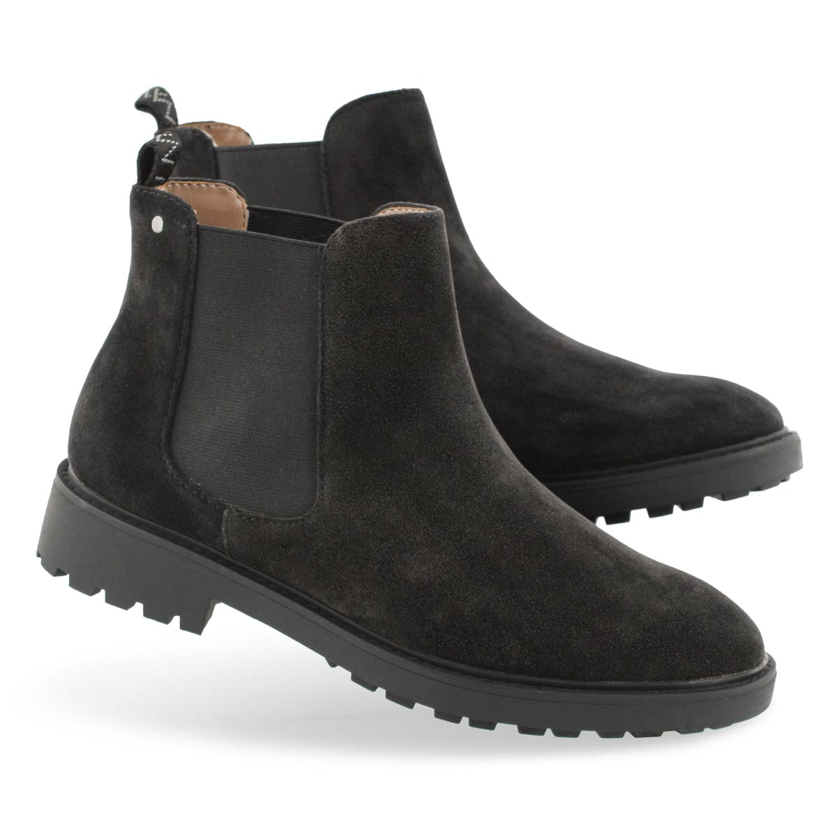 Lds Tokio black vegan chelsea boot