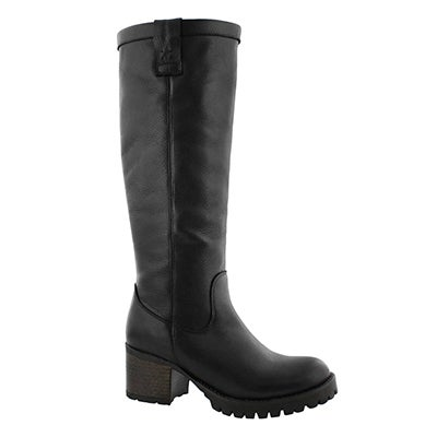 Lds Toni black casual knee high boot