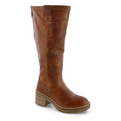 Lds Toni 2 cognac knee high boot