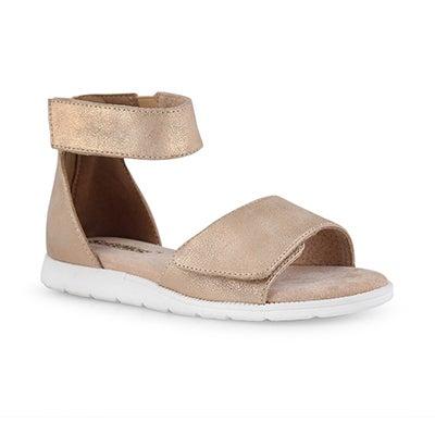 Grls Tonisha peach casual sandal