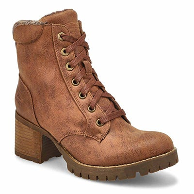 Lds Topanga tan lace up ankle boot