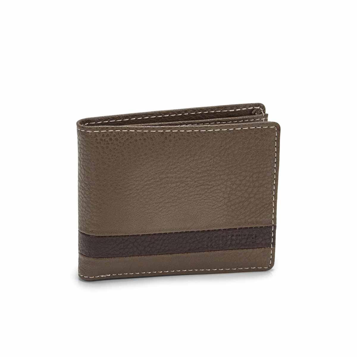 Men's TRAIL stone slimfold wallet