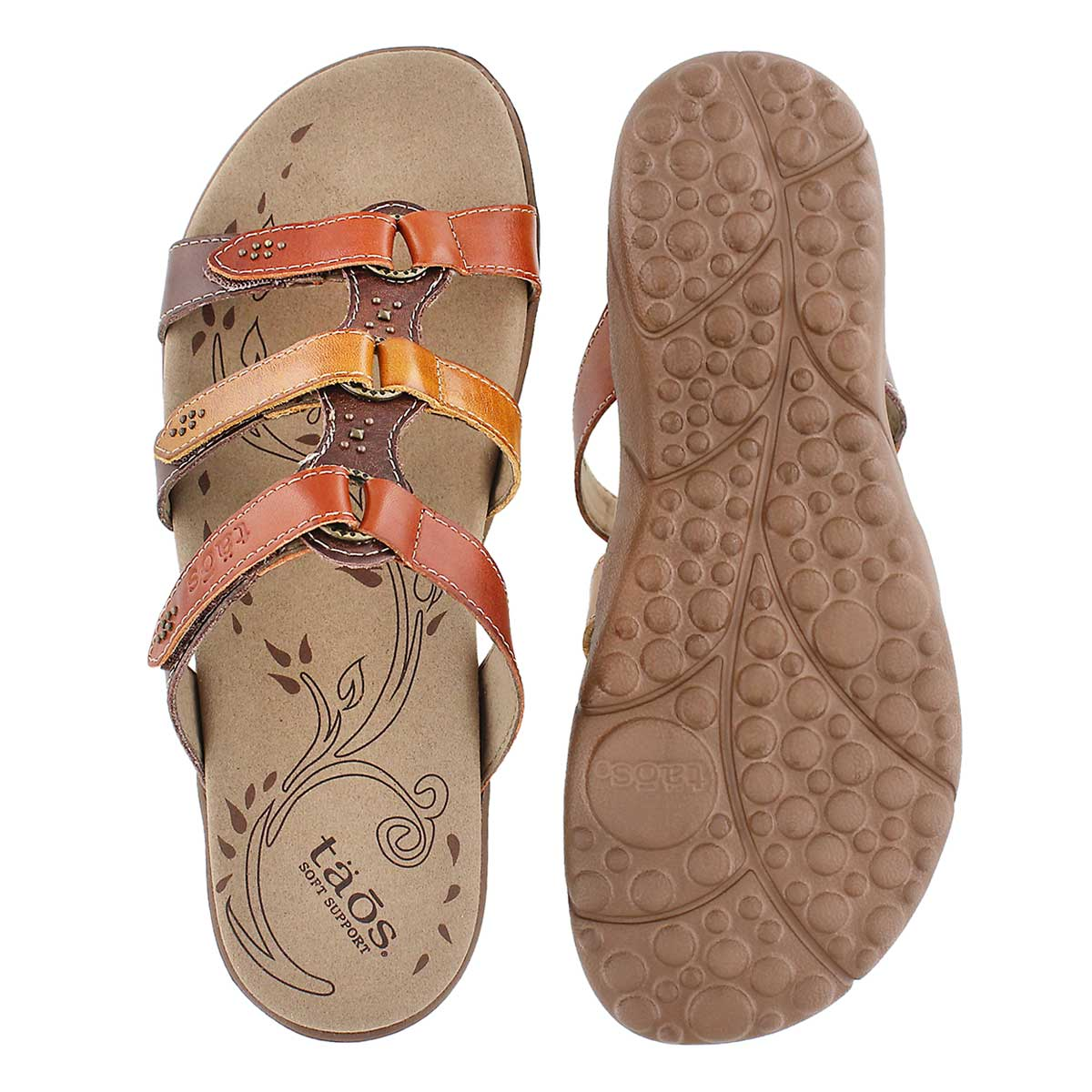 Sandale Tribute, orange/multi, femmes