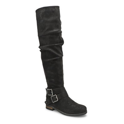 Lds Trina 2 black riding boot