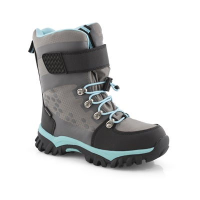 Grls Trinity grey wtpf winter boot
