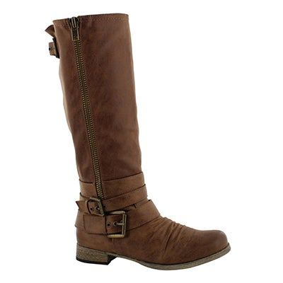 Lds Triss brown riding boot
