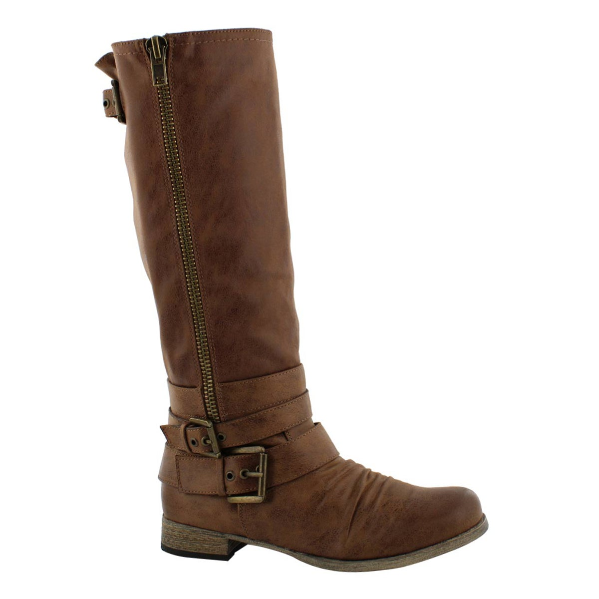 hot-selling genuine newest style of outlet boutique Women's TRISS brown riding boots