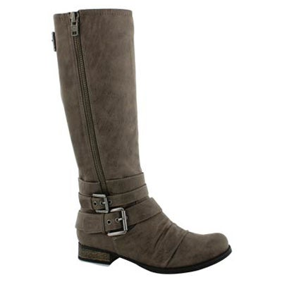 Lds Triss grey riding boot
