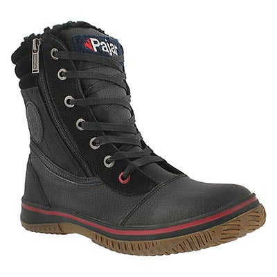 Pajar Men's TROOPER black waterproof mid winter boots