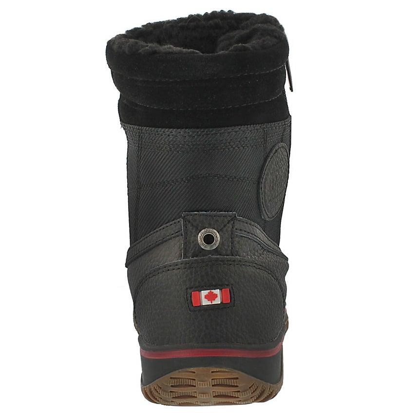 Mns Trooper blk wtrpf mid winter boot