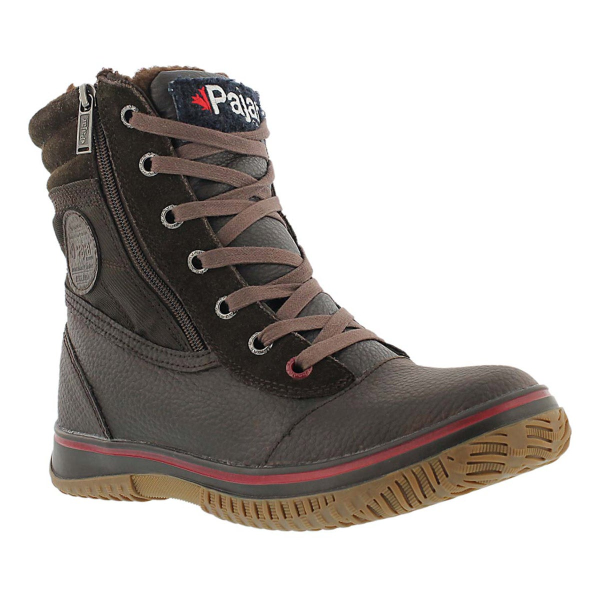 Mns Trooper dk brn wtrpf mid winter boot
