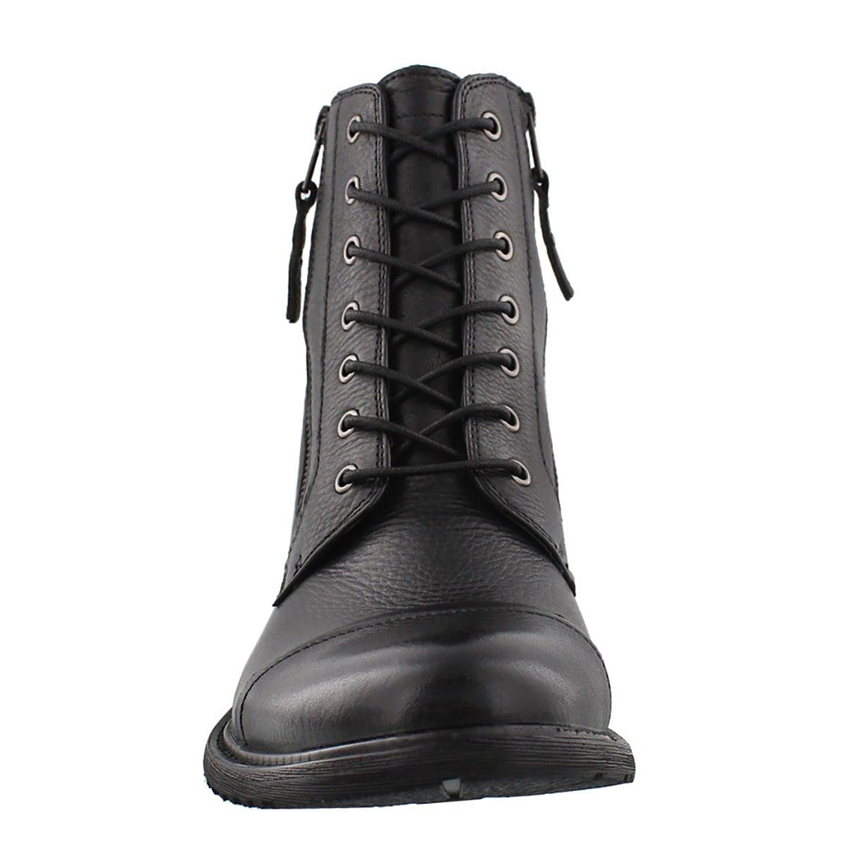 Botte cuir noir TROOPER, hom