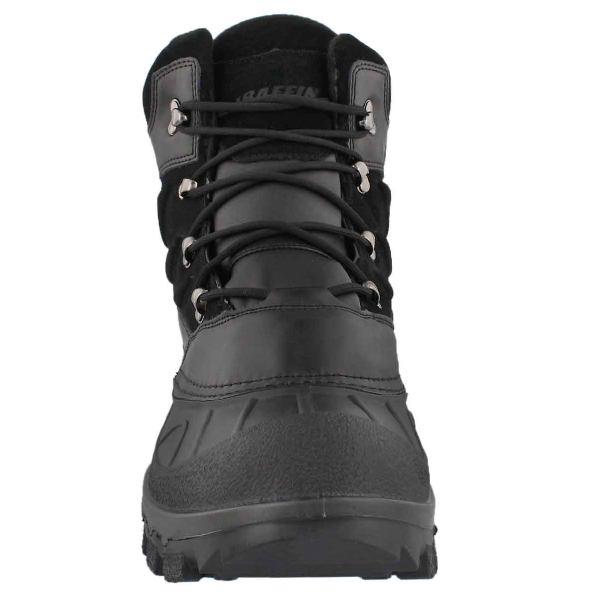Mns Ellesmere blk wp lace up winter boot