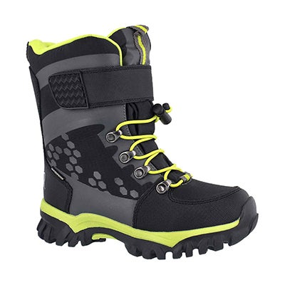 Bys Turbo blk wtpf winter boot