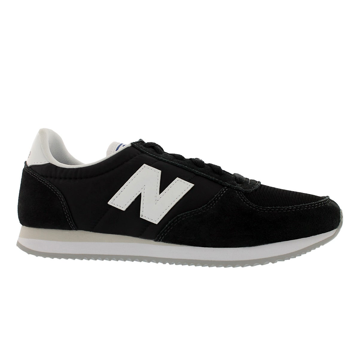 Mns 220 black/white lace up sneaker