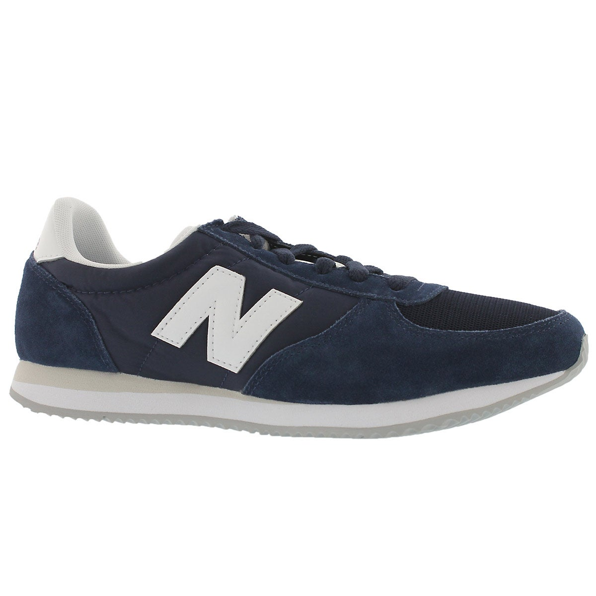 Men's 220 blue/white lace up sneakers