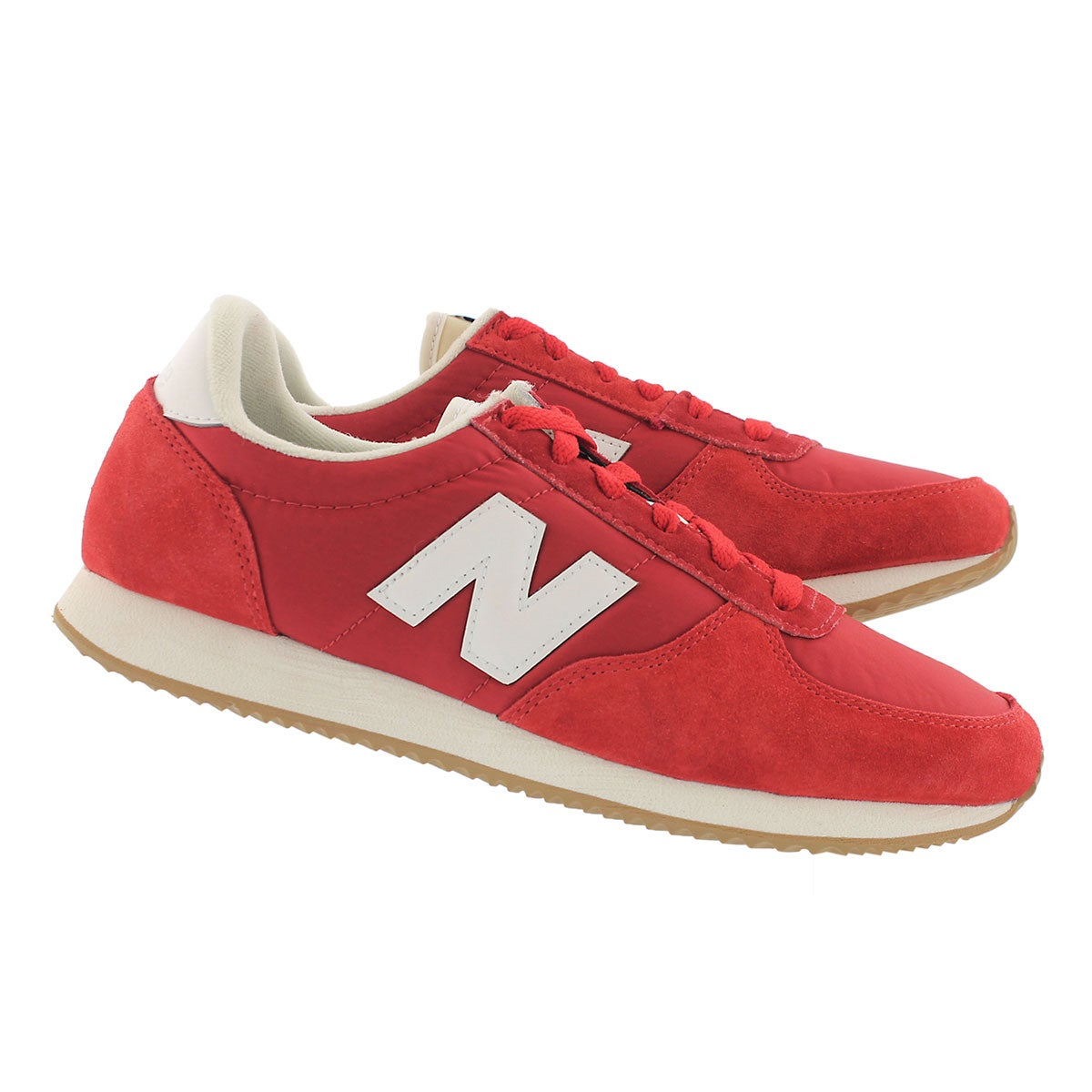 Mns 220 red/white lace up sneaker