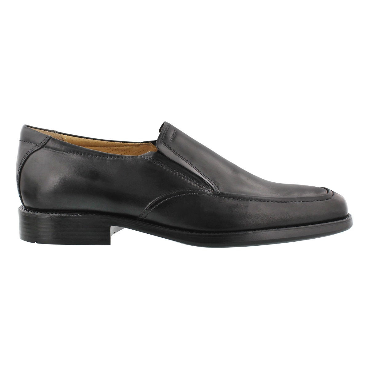 Mns Federico black slip on dress shoe