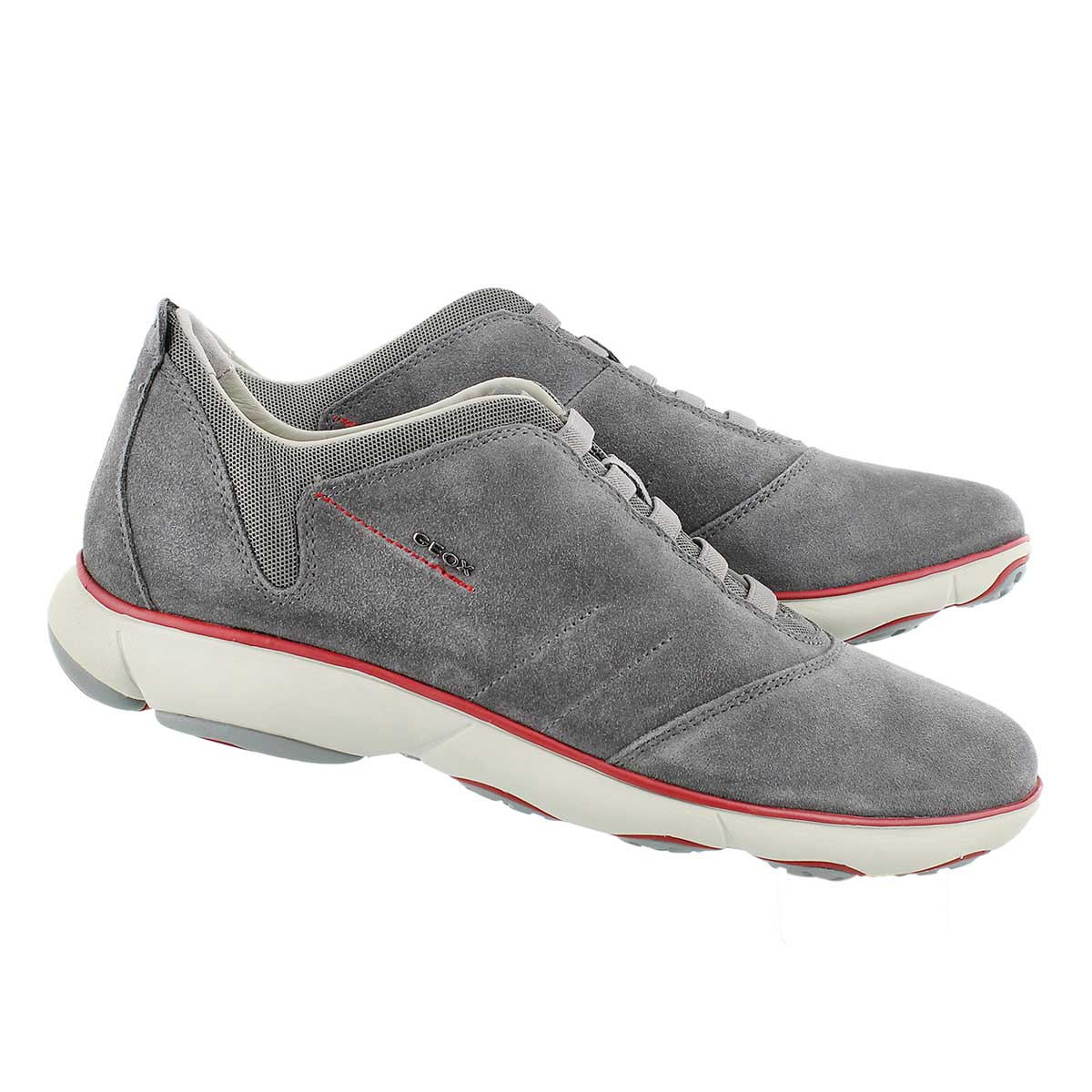 Mns Nebula grey lace up running shoe
