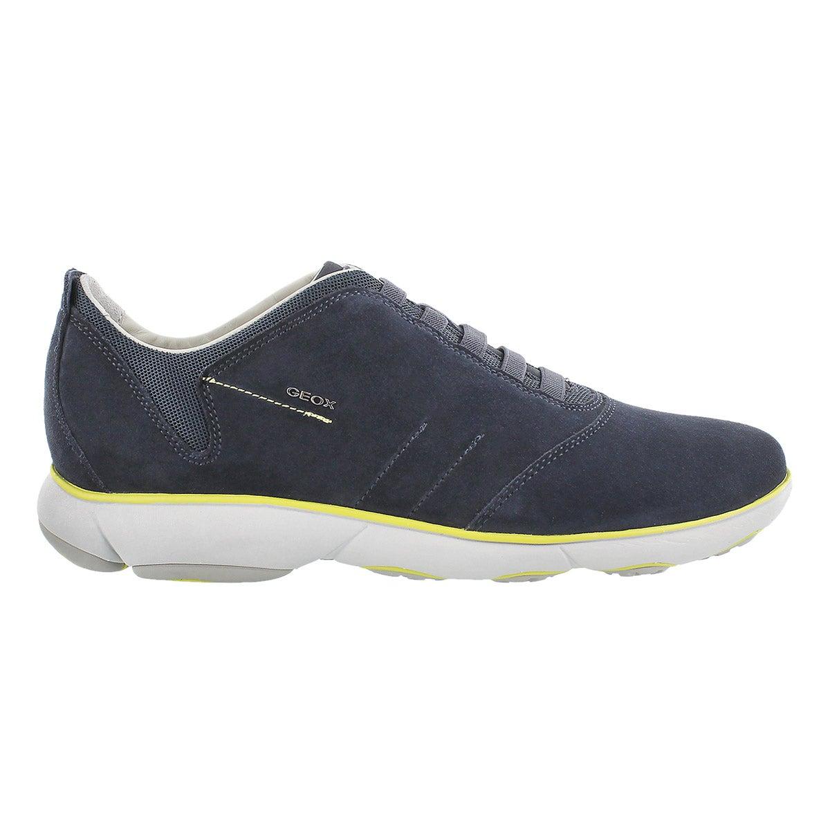 Mns Nebula navy lace up running shoe