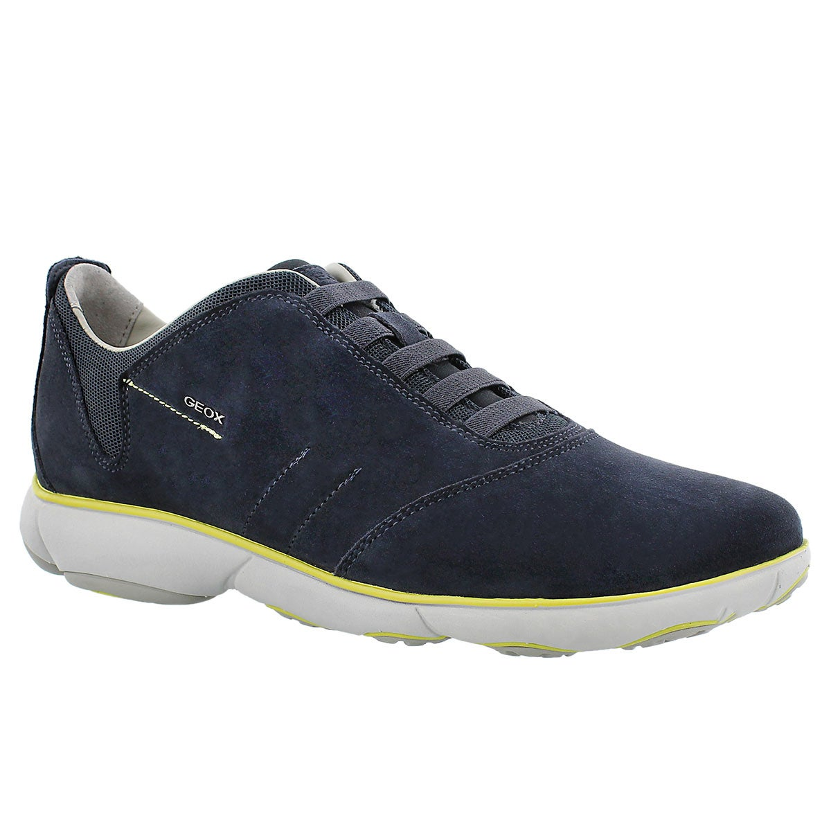 Men's NEBULA  navy lace up running shoes