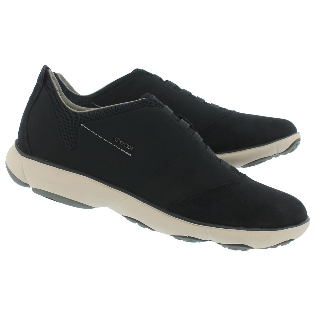 Mns Nebula navy lace up running shoe